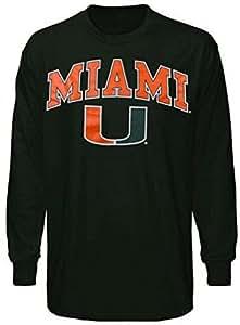Miami Hurricanes Sweat à capuche pour homme maillot de football Casquette Snapback Hat Université Apparel Large Vert