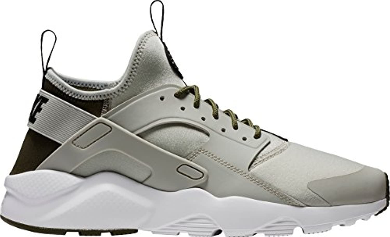 NIKE Men's Air Huarache Run Ultra Shoes (13  Khaki/Grey M)
