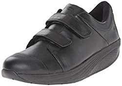 MBT Womens Zende Work Walking Shoe, Black, 42 EU/11-11.5 M US