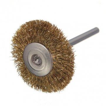 3 mm-roue en fil de laiton à souder de la rouille forDrill brosse de meuleuse