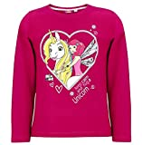 Mia and Me Langarmshirt Kollektion 2018 Shirt 98 104 110 116 122 128 134 140 146 152 Onchao Top Bordeaux (Bordeaux, 128)