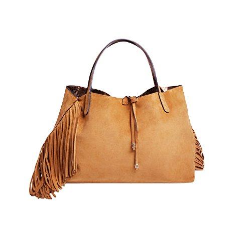 Shopping bag - borsa a mano Ray Fringes Medium - GIANNI CHIARINI Cuoio Venta Barata Obtener Auténtica ND0EmSRY