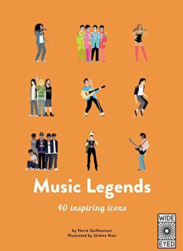 40 Inspiring Icons: Music Legends: Meet 40 Pop and Rock Stars