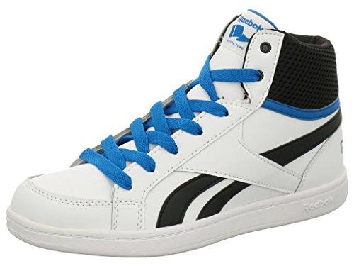 Reebok REEBOK ROYAL PRIME MID AR0792 Jungen Schnürstiefelette Kaltfutter White/Instinct Blue/Black
