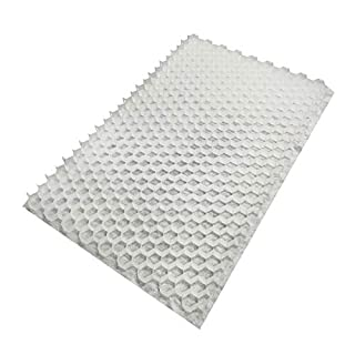 8 x CORE Drive 50-30 WHITE (1200mm x 800mm) Gravel Stabiliser Grid with attached Membrane FOR DRIVEWAYS