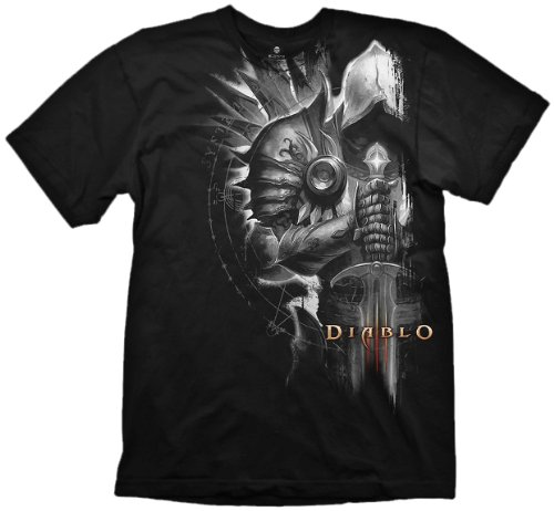 Diablo III T-Shirt - Tyrael Side, Größe L - 3 T-shirt Diablo