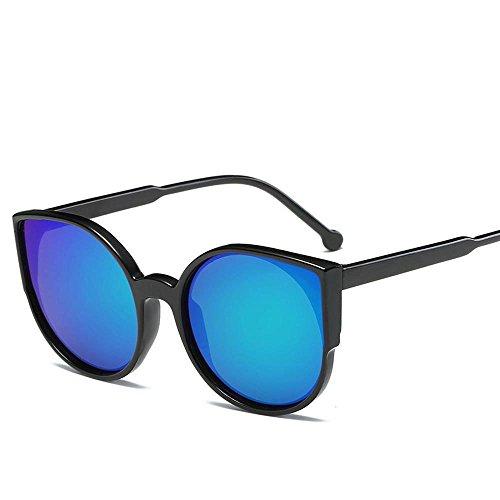 NANIH Home Herren Sonnenbrillen Frauen Ozean Film Sonnenbrillen weibliche Trend Sonnenbrillen Einteilige Süßigkeiten Farbe Brille Korea Mode Sonnenbrillen