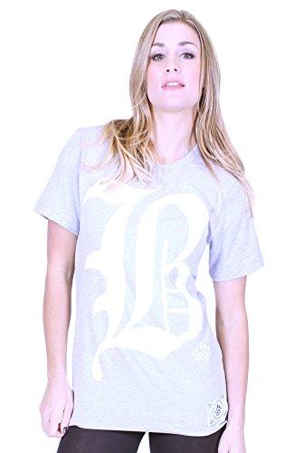 BKB - Maglia sportiva -  donna Heather Grey Medium