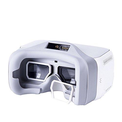 Skryo_ Drohne Teile Skryo 1Pair Schutzglasrahmen UV Filter Kratzfestes Cover für DJI Brillen