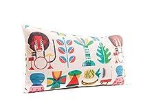Idea Regalo - SLEEPAA Federa copricuscino rettangolare 30x50 cm Baby pillow case Cameretta Bambino Biancheria Cotone Decorazione Neonato Bebè Taglia unica Fabbricato in Spagna Jungle Rock
