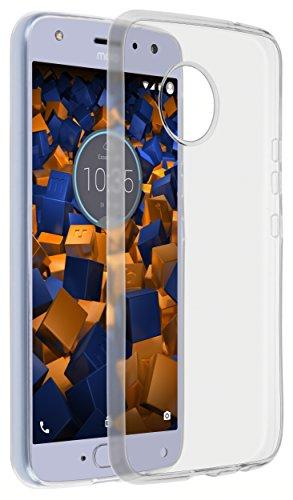 mumbi UltraSlim Hülle für Motorola Moto X4 Schutzhülle transparent (Ultra Slim - 0.70 mm)
