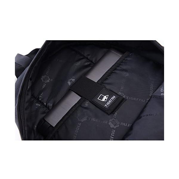 41URcuY3S2L. SS600  - Fubevod Mochila niños Clasico Moderna Laptop Backpacks Unisex Mochila Escolar para Libro Negro