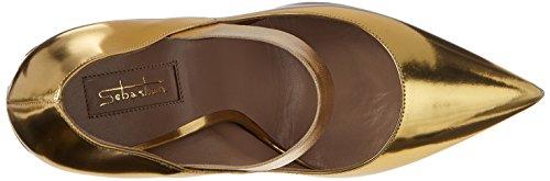 Sebastian - S7501, Scarpe col tacco Donna Oro (gold)
