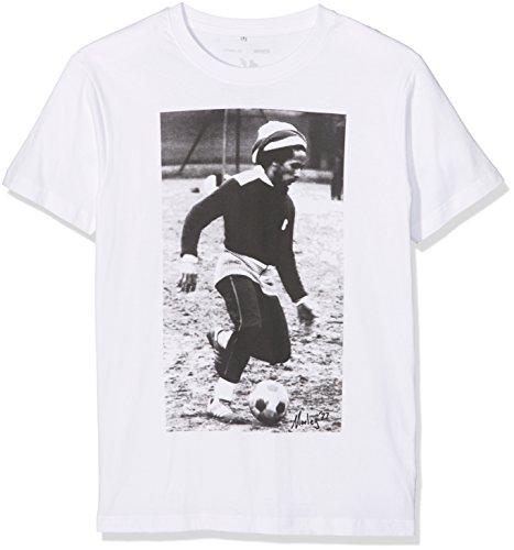 Mister Tee Herren Bob Soccer T-Shirts, White, XXL -
