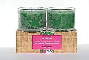 Tommy Bahama Island Edition Lily Grass Scented Candle Duo