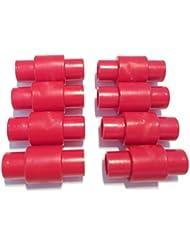 FreeWheeling Paquete de de 8 espaciadores de rodamientos para ruedas de motos, patines en línea, quads y rodillo. Dim 23,4mm - Diam 10,8mm   1117548
