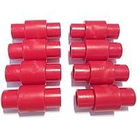 FreeWheeling Paquete de de 8 espaciadores de rodamientos para ruedas de motos, patines en línea, quads y rodillo. Dim 23,4mm - Diam 10,8mm | 1117548