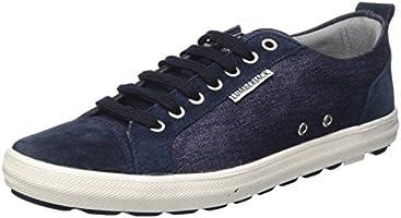 Lumberjack Wolf, Sneaker a Collo Basso Uomo, Blu (Navy Blue), 43 EU