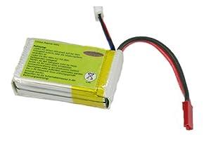 Jamara 03 0439 Accesorio y Recambio para maquetas por Radio Control (RC) - Accesorios y recambios para maquetas por Radio Control (RC) (Verde, Polímero de Litio, 7,4 V)