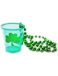 Shot Glass St Patricks Necklac
