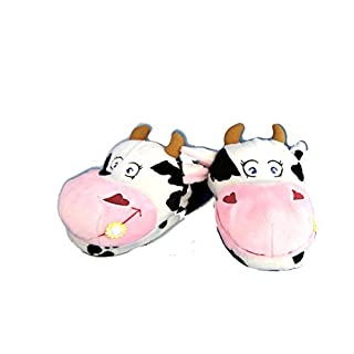 Amour Passion Cow Slippers