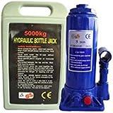 JBM 51907–gato hidráulico de botella en maletín de plástico 5toneladas)
