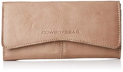 Cowboysbag Damen Purse Bow Kreditkartenhülle, Grau (000143-Rock Grey), 2x9,5x19 cm (Bow Damen-geldbörse)