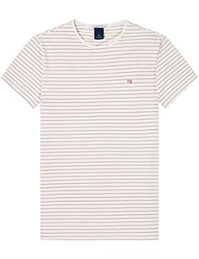Scotch & Soda Classic Crewneck Jersey Tee, Camiseta Para Hombre