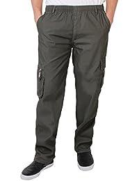 KRISP® Herren Einfarbige Cargo Combat Hose