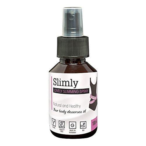 #Appetithemmer Spray SLIMLY zum gesund Abnehmen | 100% BIO Appetitzügler unterstützt die natürliche Fettverbrennung | Alternative zu Diät Pillen#