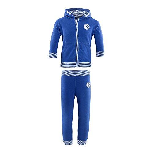 FC Schalke 04 Baby Jogginganzug (80, Blau)