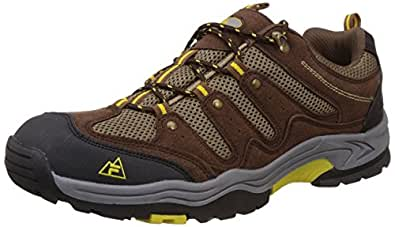 Fila Men's Hill Hike Black and Brown Multisport Training Shoes -10 UK/India (44 EU)