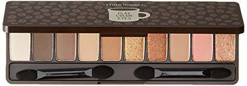 Eye Color Palette (Etude House Play Color Eyes In The Cafe 1G X 10 Colors Eye Shadow Palette)