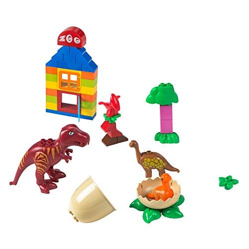 ColorBaby Juego de bloques Dinosaurios, 43 piezas (Color Baby 43535)
