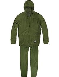 Unisex - Erwachsene Regenanzug (Jacke und Hose) - 100 % wasserdicht