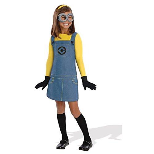 Generique - Minions-Kostüm für Mädchen (Minion Kostüm Mädchen)