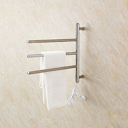 Kaisimys scaldavivande riscaldato elettrico girevole fissato al muro dell'acciaio inossidabile/radiatore del bagno/scaldino dell'asciugamano 9008