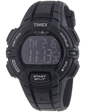 Timex Herren-Armbanduhr Sportuhren Ironman Traditional 30-Lap Rugged Chronograph Quarz T5K793