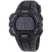 Timex Ironman Traditional 30-Lap Rugged - Reloj de cuarzo para hombres, color negro