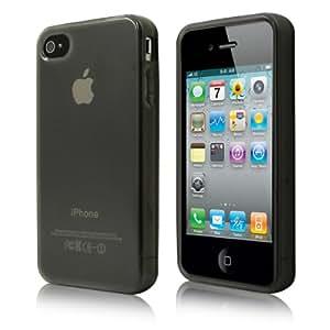 Coque Ultra Fine pour APPLE iPhone 4 / 4s - Noir - par PrimaCase