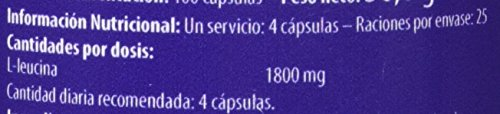 Scitec L-Leucina - 100 cápsulas