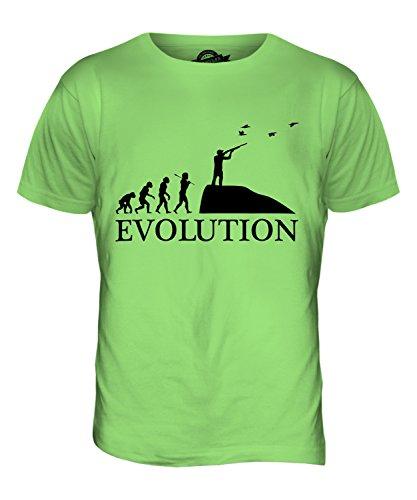 CandyMix Safari Wildjagd Evolution Des Menschen Herren T Shirt Limettengrün