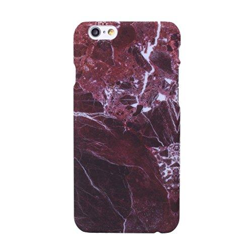 """iPhone 7 Coque , YIGA Motif Marbre Naturel Jaunâtre PC Plastique Dur Hard Bumper Case Cover Housse Etui pour Apple iPhone 7 4.7"""" A-5G-PC-HD5"""