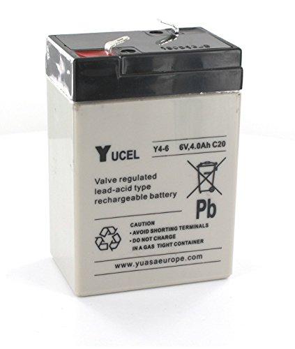 Yucel - Batterie Plomb 6V 4Ah Y4-6 YUCEL - Y4-6