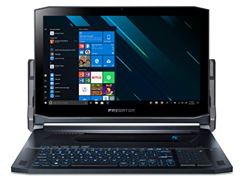 "Foto Acer Predator Triton 900 PT917-71-73W2 Notebook Gaming con Processore Intel Core i7-9750H, Ram 16GB DDR4, 512GB+512GB SSD, Display 17.3"" UHD Glare IPS LCD, NVIDIA GeForce RTX 2080 8G, Windows 10 Home"