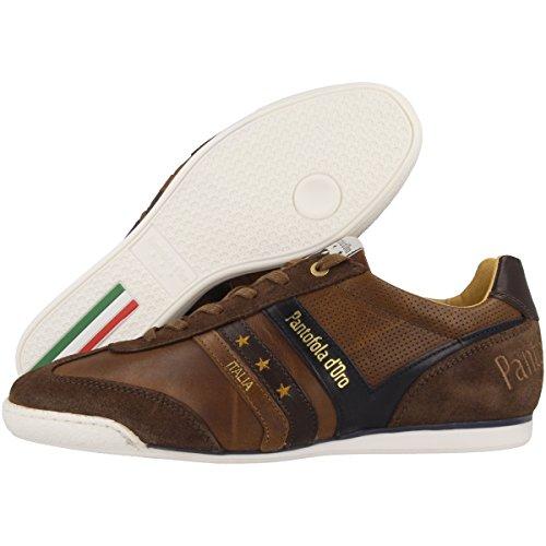 Pantofola d'Oro Herren Vasto Uomo Low Sneaker Braun (Tortoise Shell)