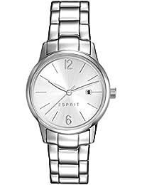 Esprit Damen Armbanduhr Analog Quarz Edelstahl ES100S62012