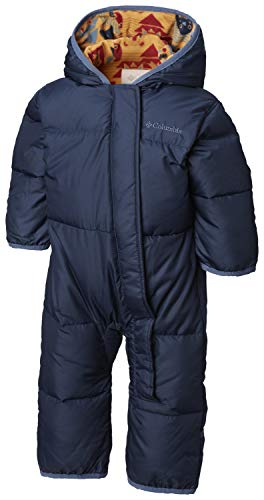 Columbia Schneeanzug für Kinder, Snuggly Bunny Bunting, Polyester, blau (coll navy/canyon gold critter), Gr. 6/12 Monate, 1516331 - Mädchen Baby Kapuzen Jacke