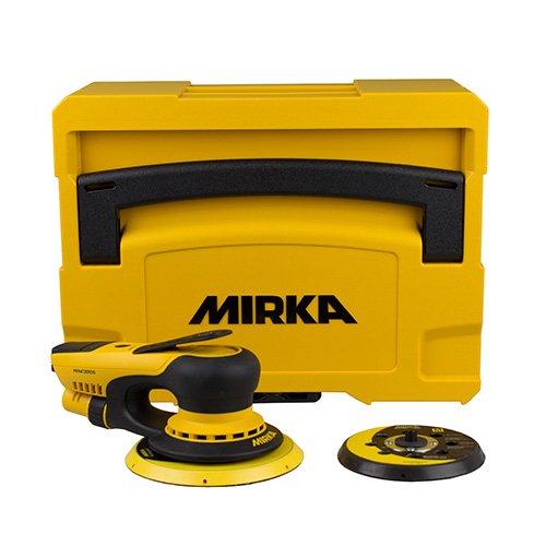 Mirka Deros Ponceuse 5650cv 125 150 Mm 5mm Orbitale 220v Casette