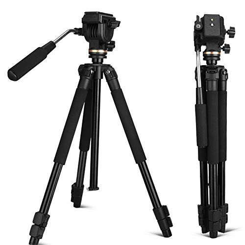 MCJL Tragbares Light Tripod mit Pan Head Camera Stand Set Professional Camera für DV Canon Nikon Nikon Sony